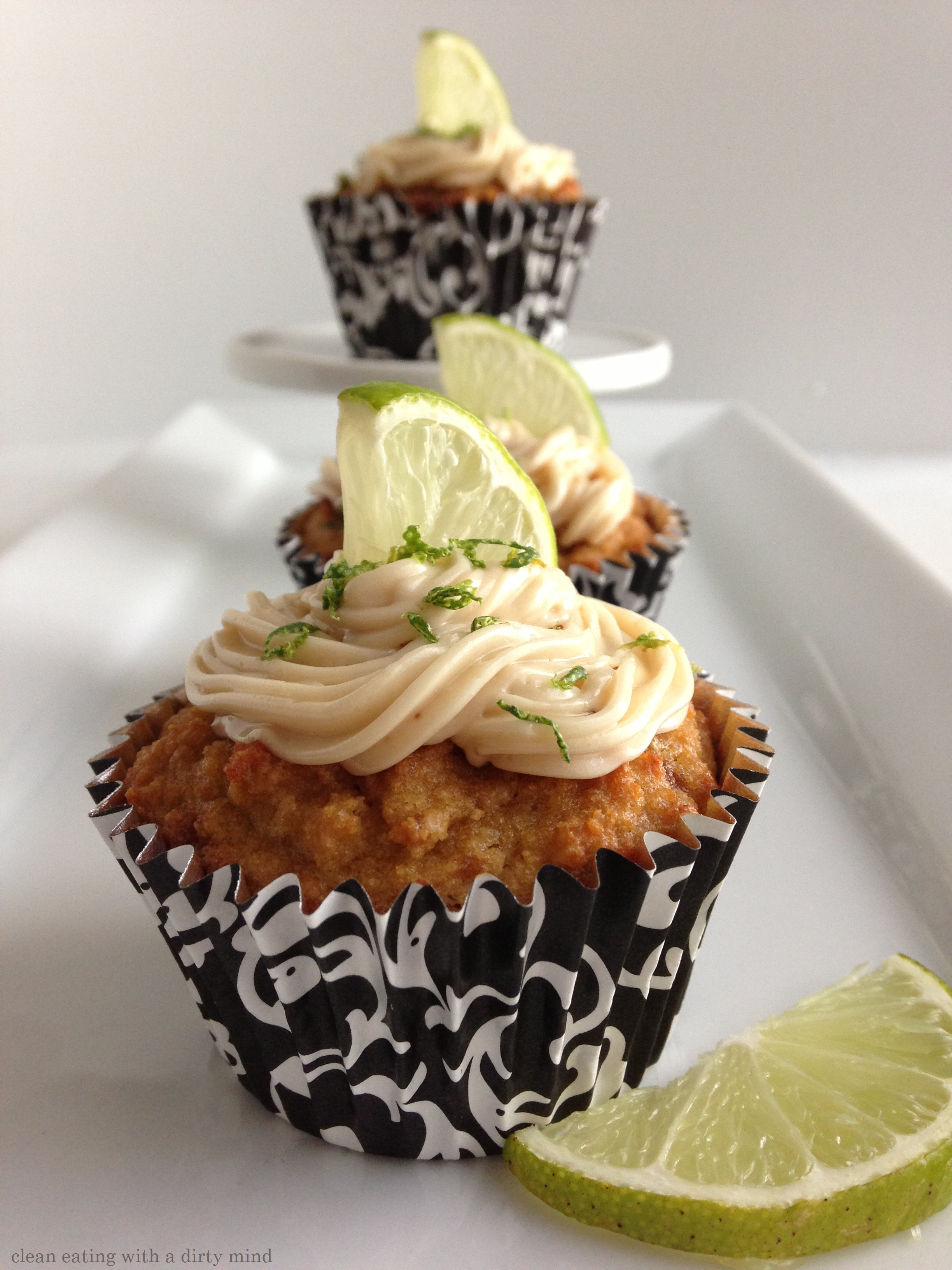 Paleo Key Lime Muffincakes