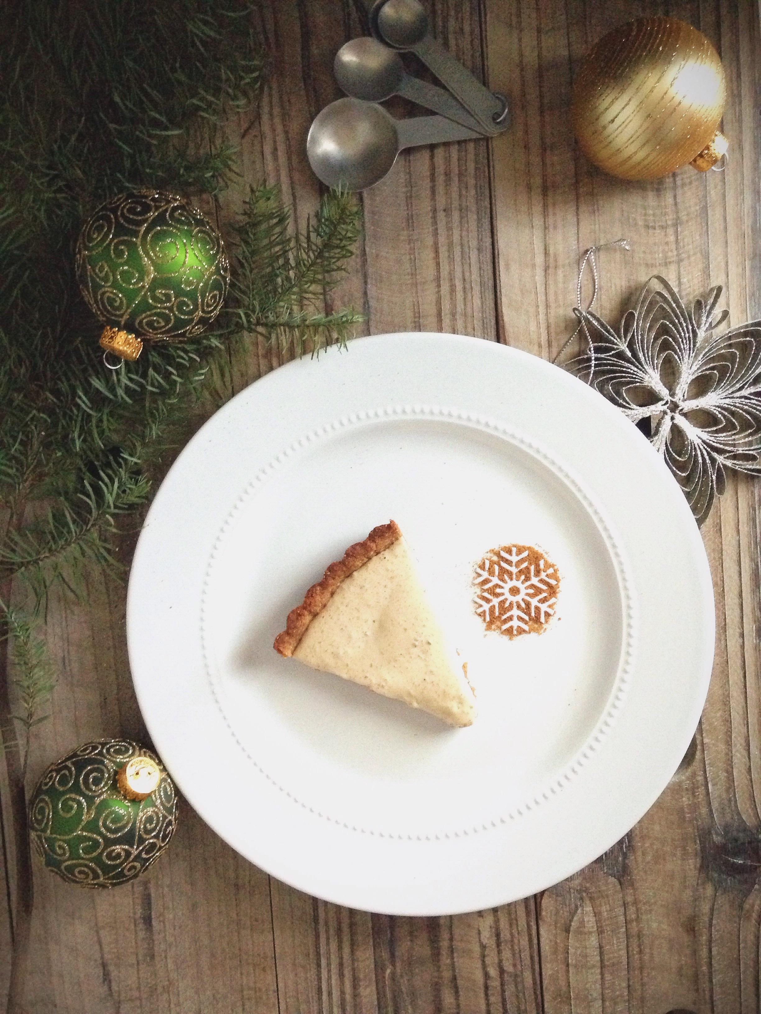 Eggnog Chiffon Pie 1