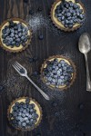Paleo Blueberry Lemon Tartlets