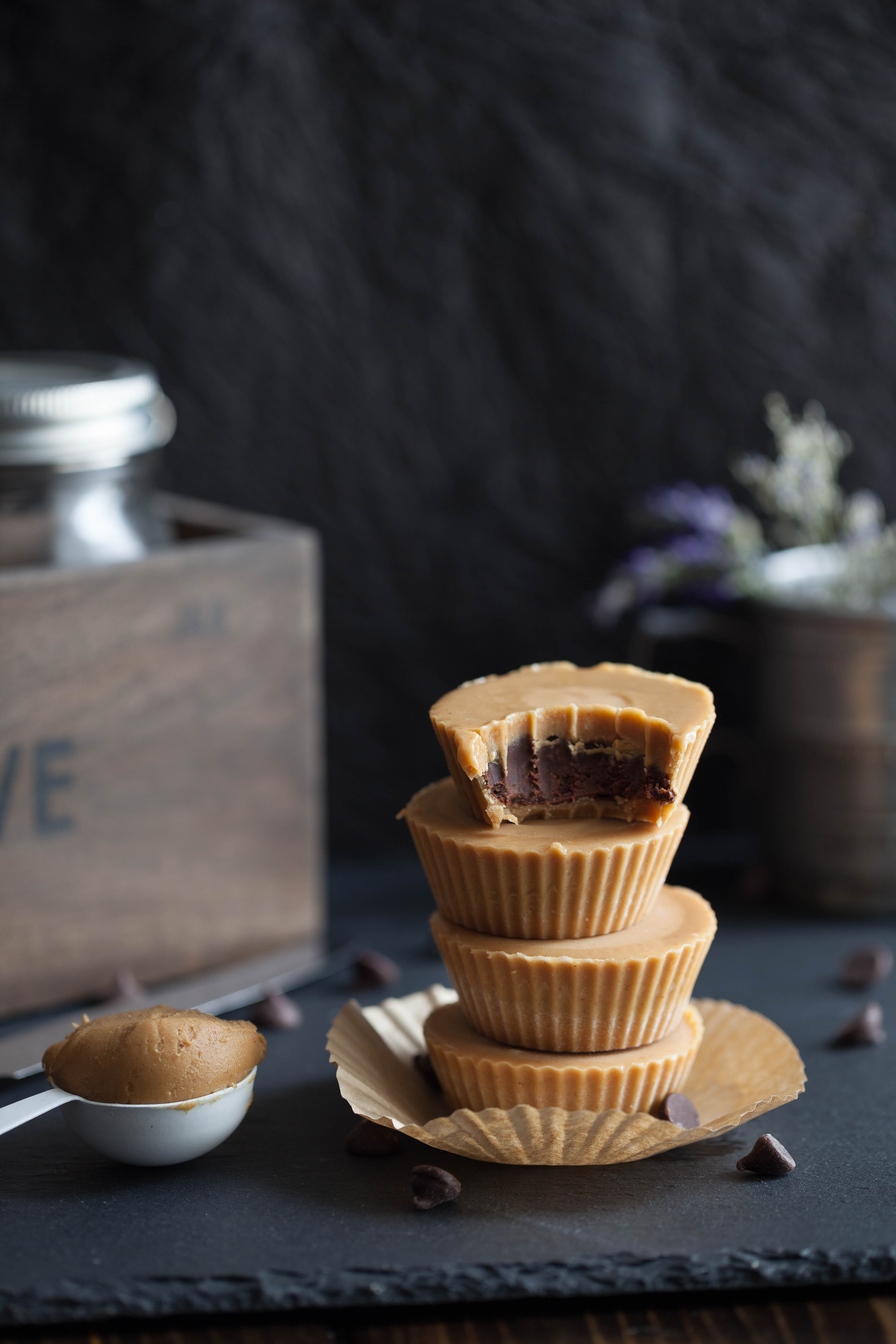 Inside Out Peanut Butter Cups | Clean Eating with a Dirty Mind