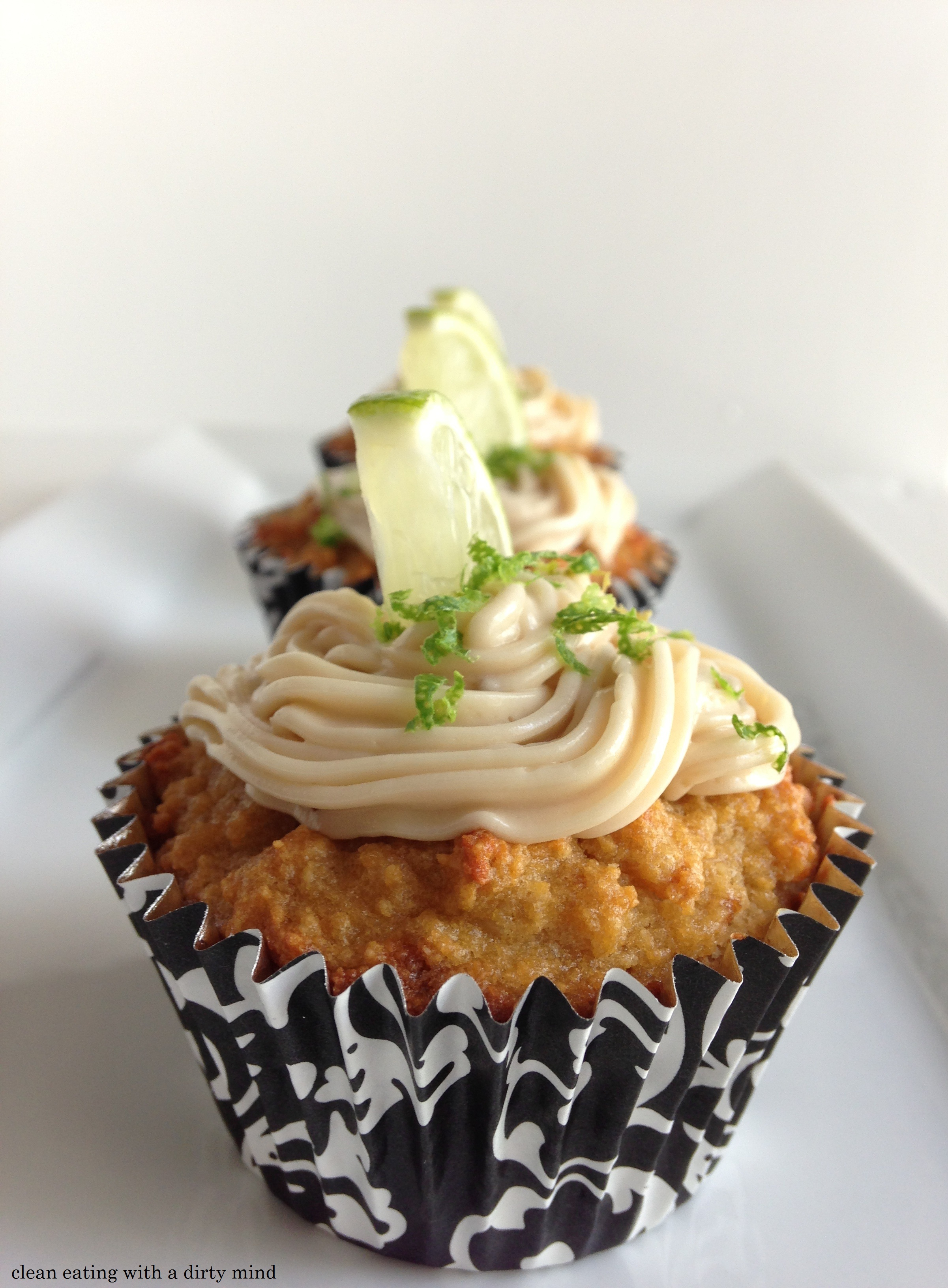 Key Lime Muffin Cakes
