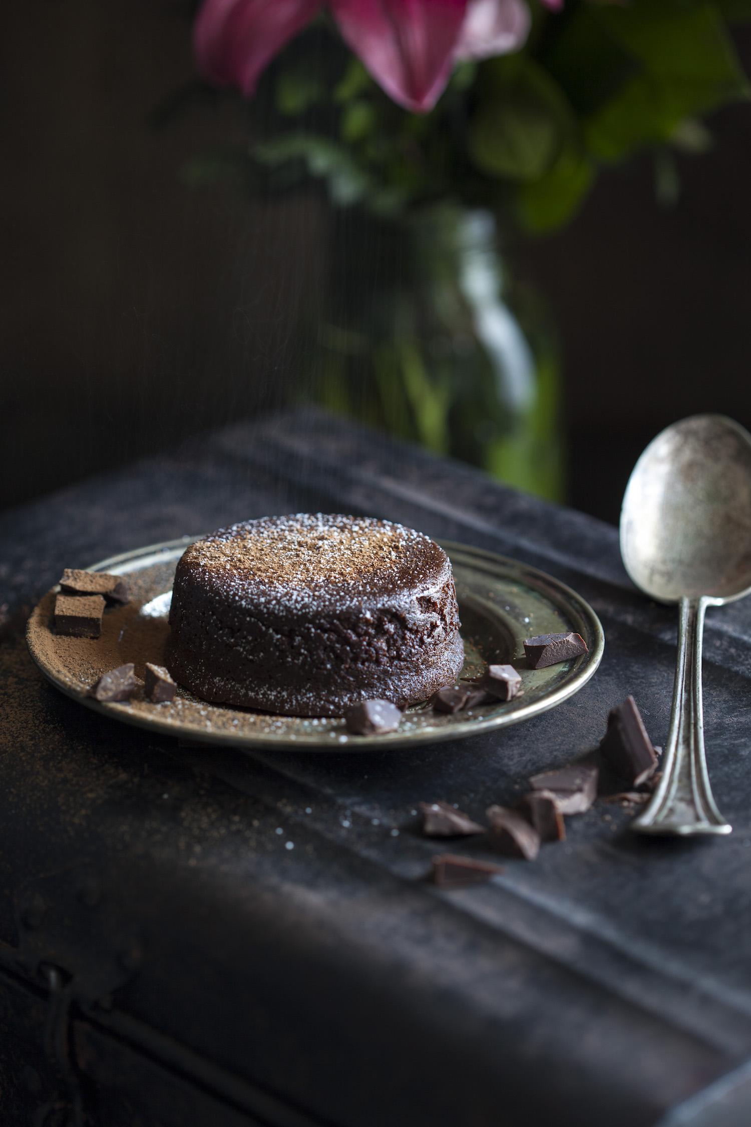 Clean Molten Lava Cake